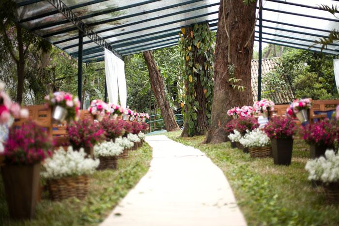 Espaço ao ar livre para Casamento em SP